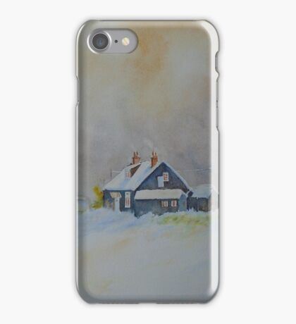 Winter on Dungeness iPhone Case/Skin