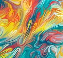 Abstract Colors II by Shannon Posedenti