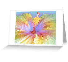 Hibiscus Flower Greeting Card