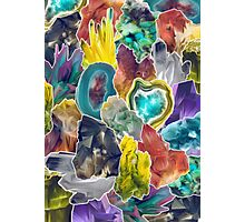 Crystal Collage Photographic Print