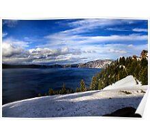 Crater Lake IV Poster