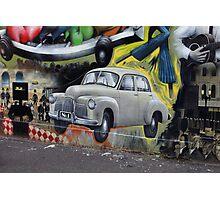 Australiana Memorabilia Wall Photographic Print