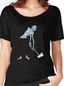 Zombie Axe Dragger!! Women's Relaxed Fit T-Shirt