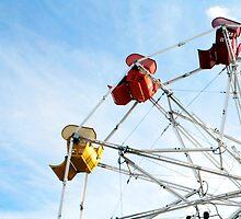Ninety Degrees of Ferris Wheel by Jewel Pfaffroth