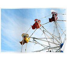 Ninety Degrees of Ferris Wheel Poster