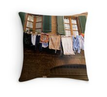 Colorful Wash in Siena Throw Pillow