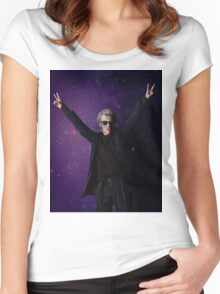 Doctor Disco (12th Doctor) Women's Fitted Scoop T-Shirt