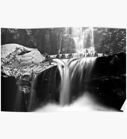 Picnic Point Waterfall Poster