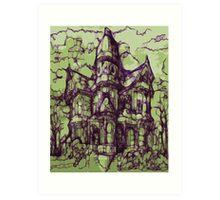 Hotel California - Haunted House Art Print
