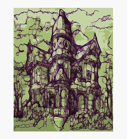 Hotel California - Haunted House Photographic Print