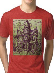 Hotel California - Haunted House Tri-blend T-Shirt