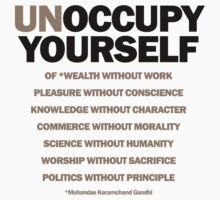 unoccupy yourself by titus toledo