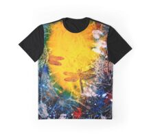 Ocean Light...The Dragonfly Graphic T-Shirt