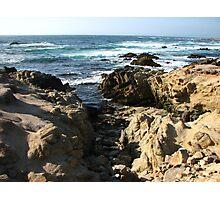 Rugged Shore, Pebble Beach, CA 2012 Photographic Print