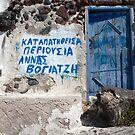 Blue Door Entreaty by phil decocco