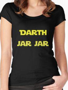 Darth Jar Jar Women's Fitted Scoop T-Shirt