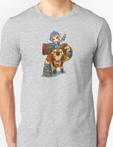 Crystal Maiden & Earthshaker Dota 2 T-Shirt
