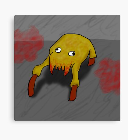 Googly Headcrab Canvas Print