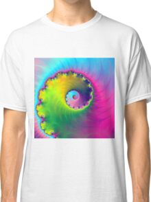 Color Wash Spiral Classic T-Shirt