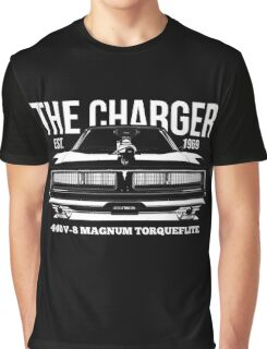 Dodge Charger Classic US Muscle Car Graphic T-Shirt