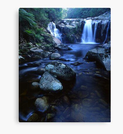 """Halls Falls"" ∞ The Blue Tier, Tasmania - Australia Canvas Print"