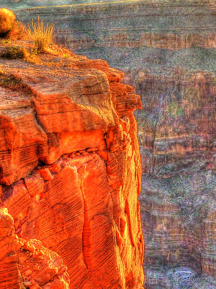 Grand Canyon - West Rim at sunset by Chris Brunton