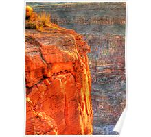 Grand Canyon - West Rim at sunset Poster