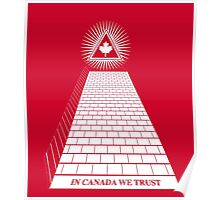 in Canada we trust rw Poster