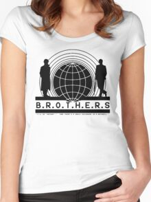 Brothers (filled version) Women's Fitted Scoop T-Shirt