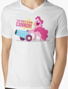 Party Canon Mens V-Neck T-Shirt