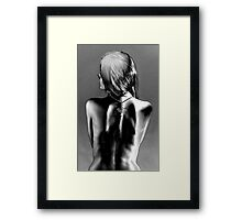 You call this a product shot? Framed Print