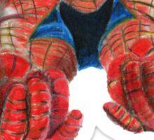 Flying Spiderman! Sticker