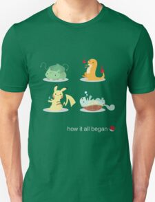 How it all began T-Shirt