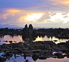 Sunset Gordons Bay by CrismanArt