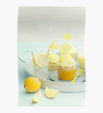 Lemon cupcakes Poster