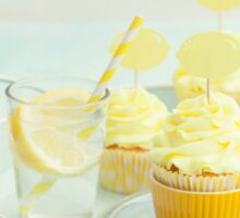 Lemon cupcakes Sticker