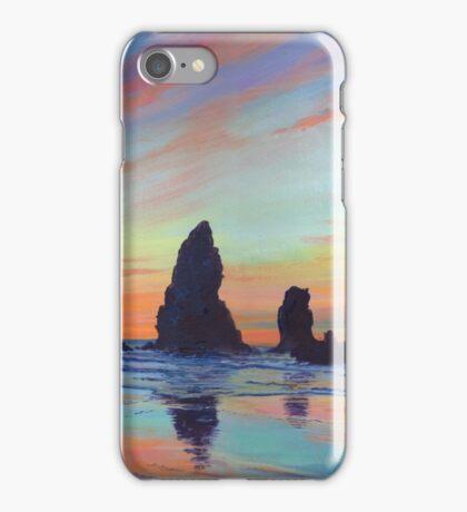 Haystack Rock, Canon Beach. USA iPhone Case/Skin
