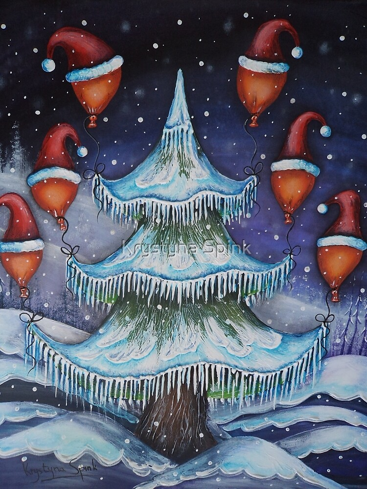Home For Christmas by Krystyna Spink