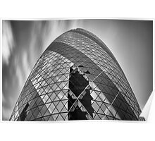 The Cloudy Gherkin Poster