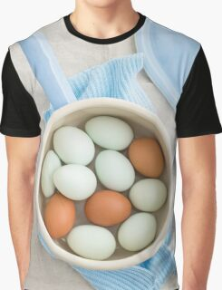 Eggs in a saucepan Graphic T-Shirt