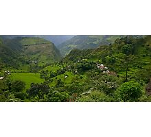 Annapurna Greens Photographic Print