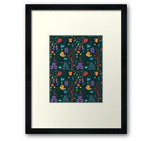 Plant Pattern Color 2 Framed Print