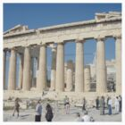 Athens - The Pantheon by esquirrelson