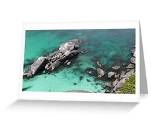 Indian Ocean Greeting Card