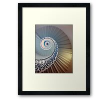 Tulip Staircase (Color) Framed Print