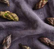 Purple asparagus Sticker