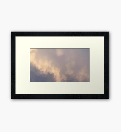 May 5 2012 Storm  Framed Print