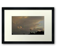 May 5 2012 Storm 11 Framed Print