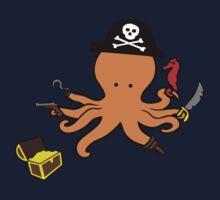 Pirate Octopus Kids Tee