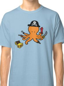Pirate Octopus Classic T-Shirt